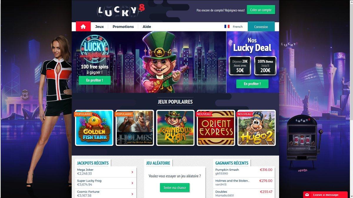 casino lucky8 avis