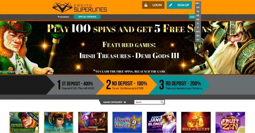 casino superlines avis